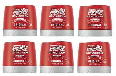 Brylcreem Hairdressing Original Gel, 250 ml (Pack of 6)