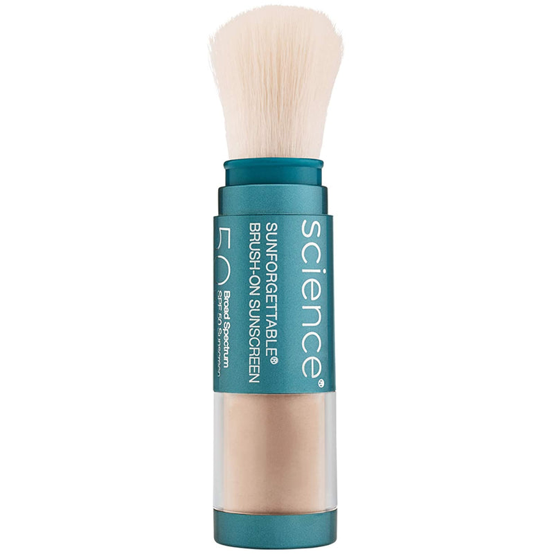 colorescience sunforgettable total protection brush-on shield SPF 50 Medium 6 g/ 0.21 oz.