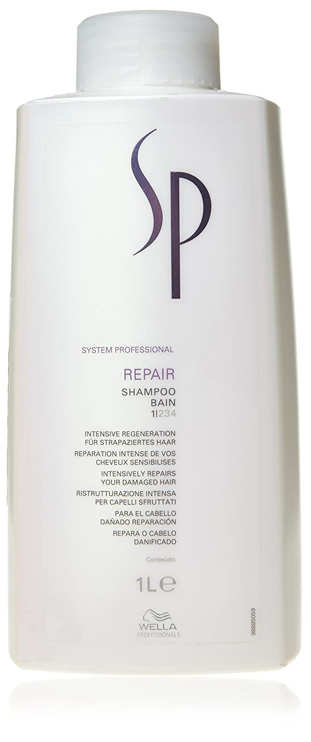 Wella SP Repair Shampoo for Damaged Hair, 33.8 Ounce