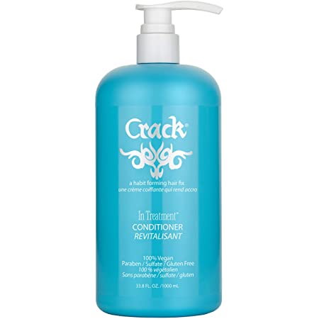 Crack Hair Fix In-Treatment Conditioner with pump (33.8 Oz / 1000 Milliliter)