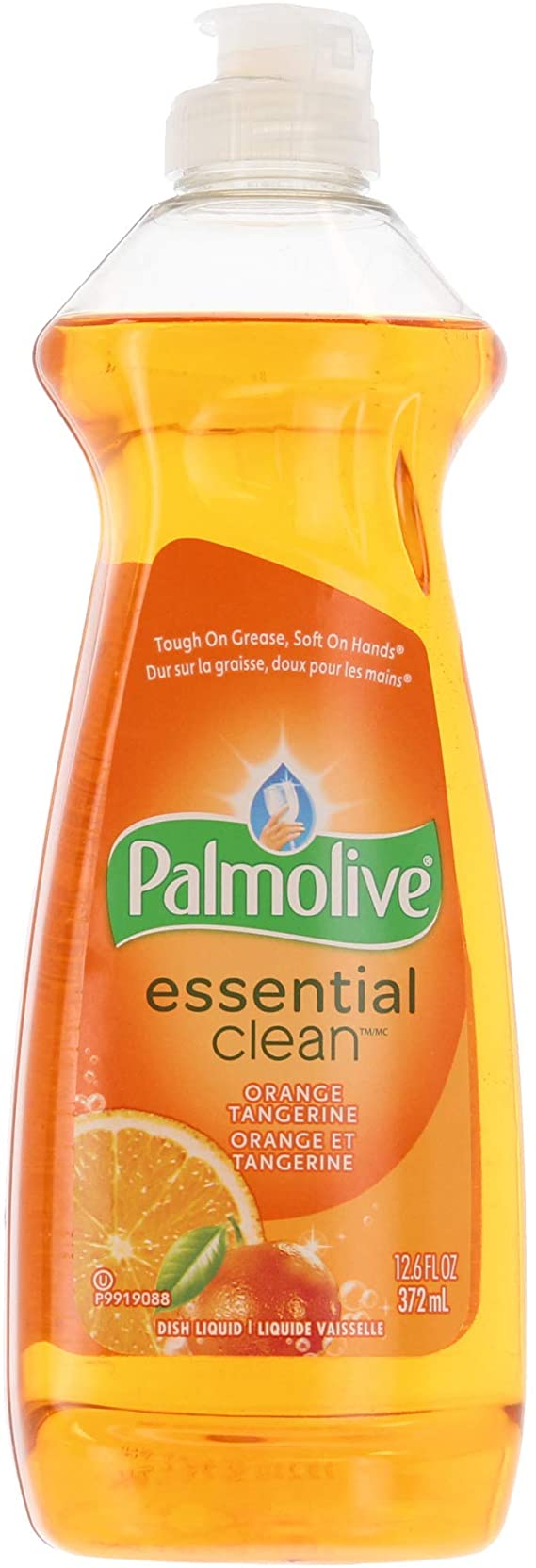Palmolive Orange Dish Liquid Cleaner - 372 ml (Pack of 17)