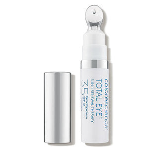 ColoreScience  Total Eye 3-in-1 Renewal Therapy Anti-Aging Wrinkles Dark Circles SPF 35 0.23 fl oz - FAIR