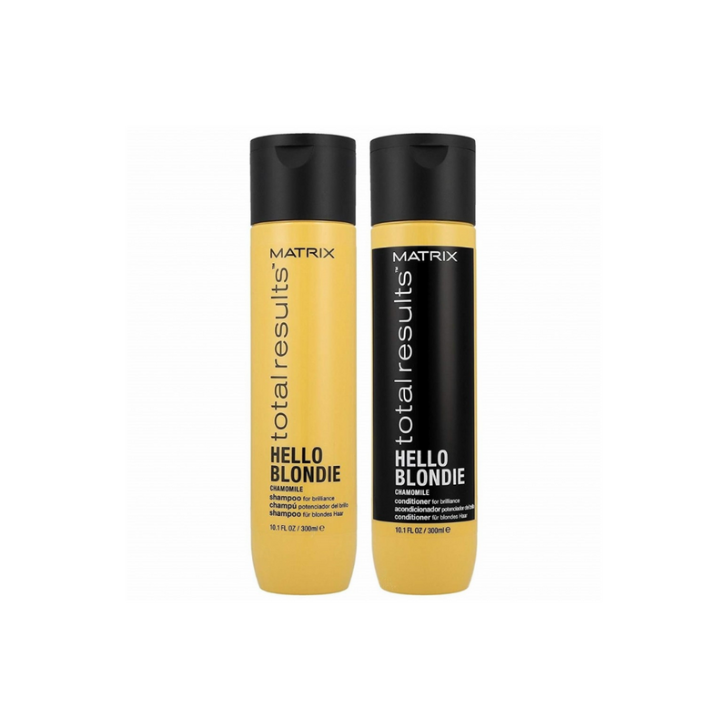 Matrix Total Results Hello Blondie Chamomile Shampoo and Conditioner Duo 300 ml/ 10.1 fl. oz.