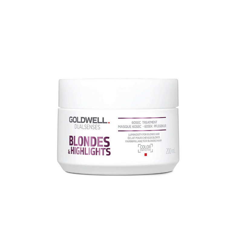 Goldwell Dualsenses Blondes & Highlights Anti-Yellow 60sec Treatment 6.7 oz