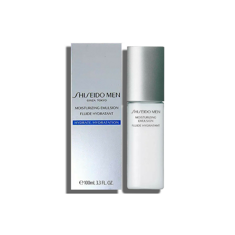 shiseido Men Moisturizing Emulsion for Men, 3.3 Oz