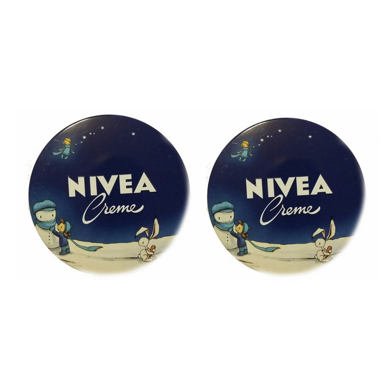 Nivea Creme Tin - 400ml Pack of 2 (holiday edition)