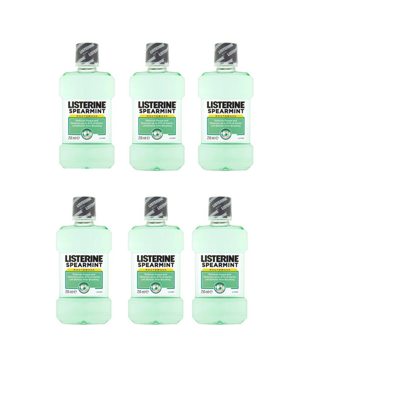 Listerine Spearmint 250ml ( pack 6)