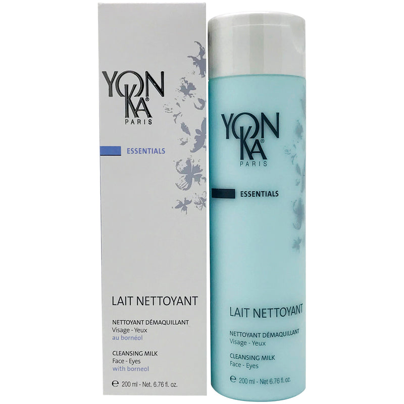 Yon-Ka Lait Nettoyant Cleansing Milk, Face Wash for All Skin Types 200mls