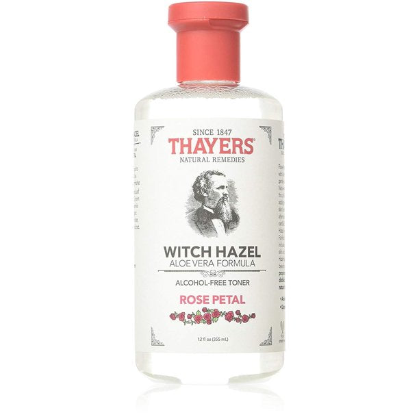 Thayers Alcohol free rose petal Witch Hazel Toner With Alo Vera 12 oz