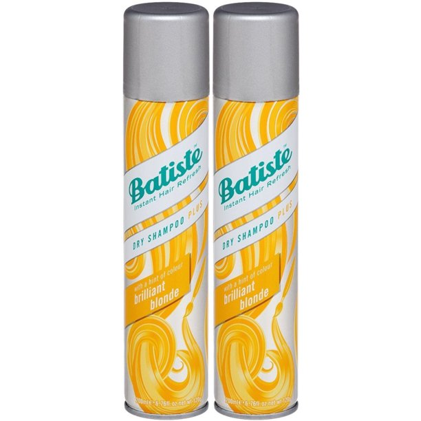 Batiste Shampoo Dry Brilliant Blonde 6.73 Ounce (Pack of 2)
