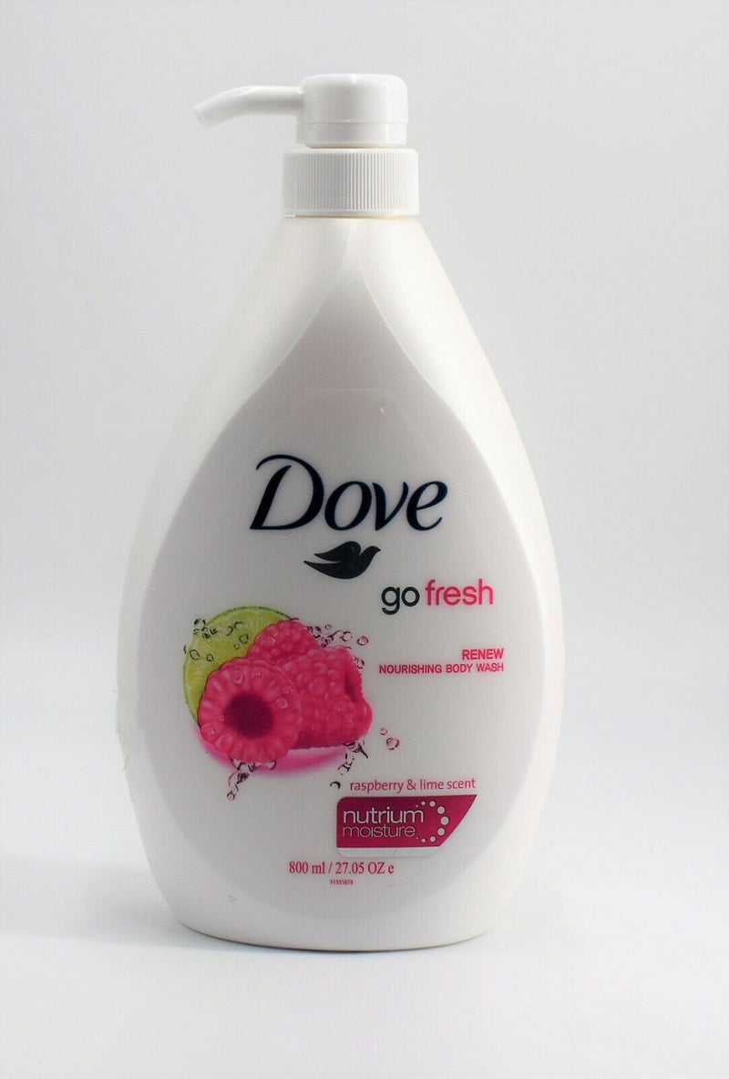 Dove Go Fresh Renew Nourishing Body Wash 800ml With Pump (Pack of 3)