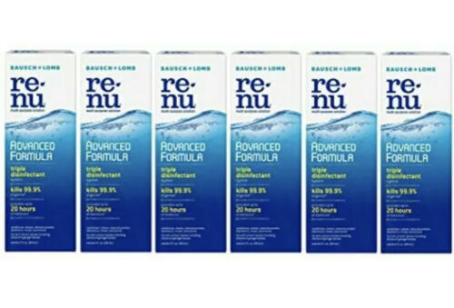 Renu Fresh Multi-Purpose Contact Lens Solution, Travel Size 2 Fl Oz (Pack Of 6)