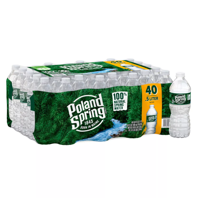 Poland Spring 100% Natural Water (40 pack)