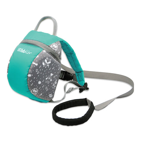 bblüv - Päk - Toddler Backpack with Adjustable Safety Reins and Harness (Aqua)