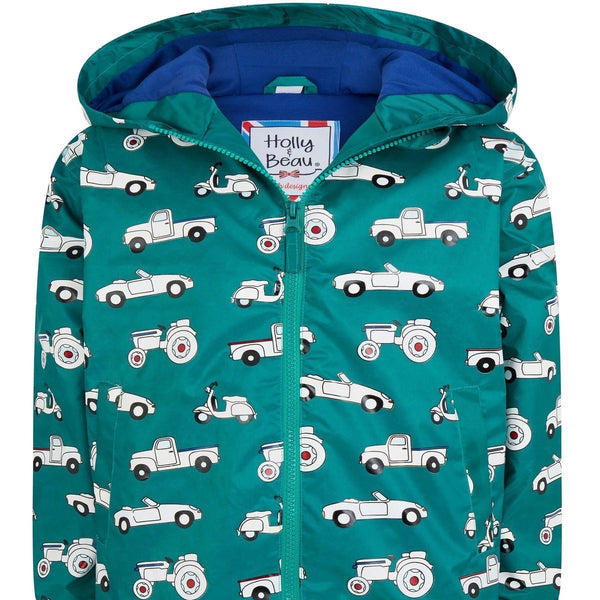 Holly&Beau Magic Colour technology® Car and Truck raincoat green - Tap Tap Market