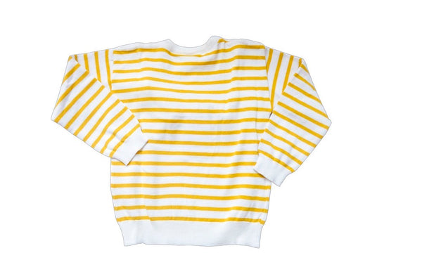 Poniponchi girl yellow knitted jumper super soft - Tap Tap Market