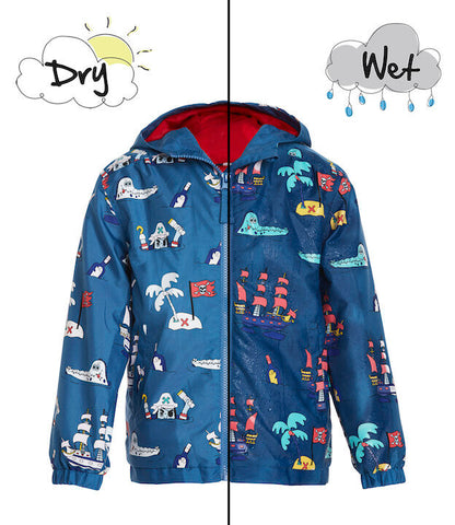 Holly&Beau Magic Colour technology® Pirate raincoat - Tap Tap Market