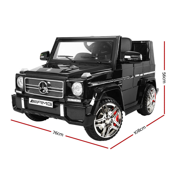 Kids Ride On Car MercedesBenz Licensed G65 12V Electric Black