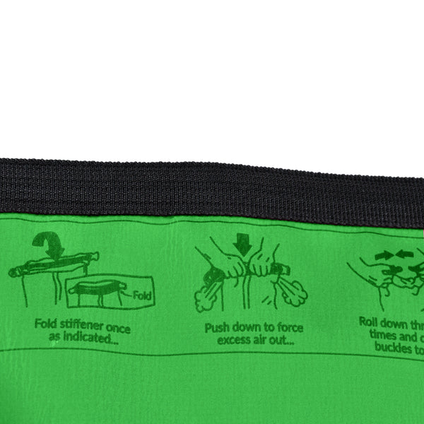 4L Dry Carry Bag Waterproof Beach Bag Storage Sack Pouch Boat Kayak Green
