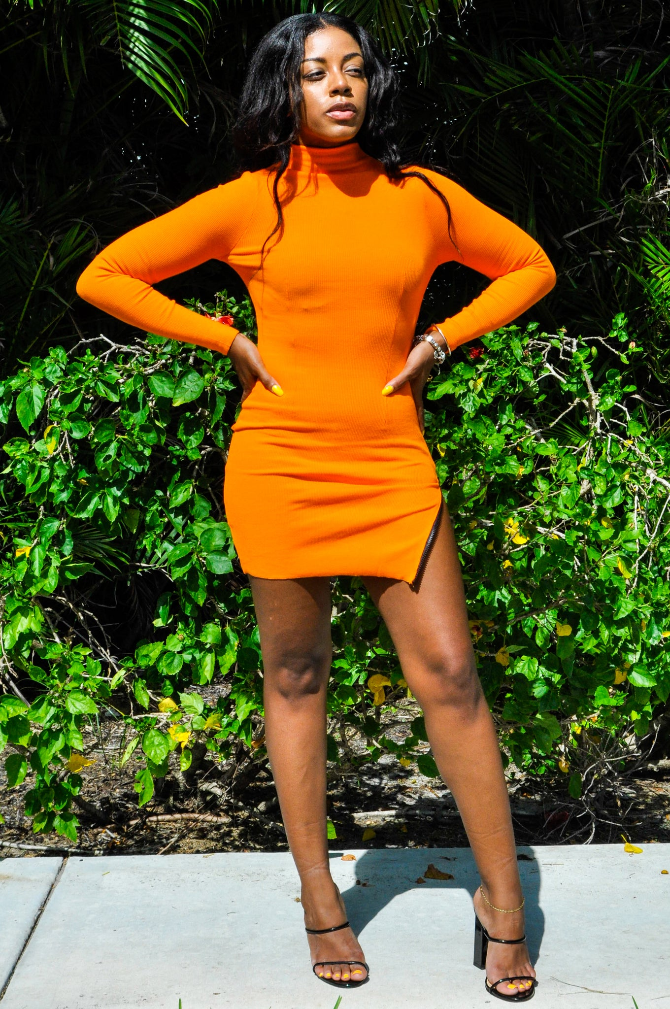 Orange You Glad To See Me - Mini Dress
