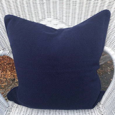 Navy Linen Cushion Cover