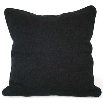 Charcoal Linen Cushion Cover - 50 x 50 cm