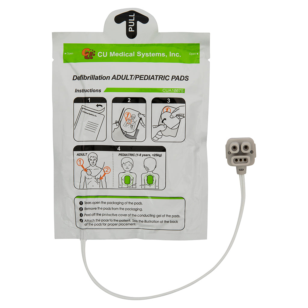 iPAD Dual Use Adult/Child Electrode Pads (Pair) - Genuine Manufacturer