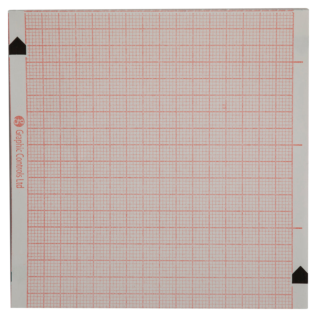 ECG Printer Paper - Square MM Grid Only for Zoll M & R Series (8000-0300) - Each