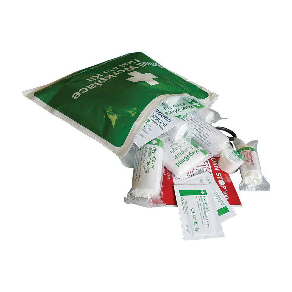 First Aid Kit in Vinyl wallet