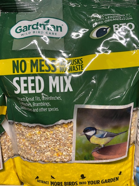 Seed Mix No Mess