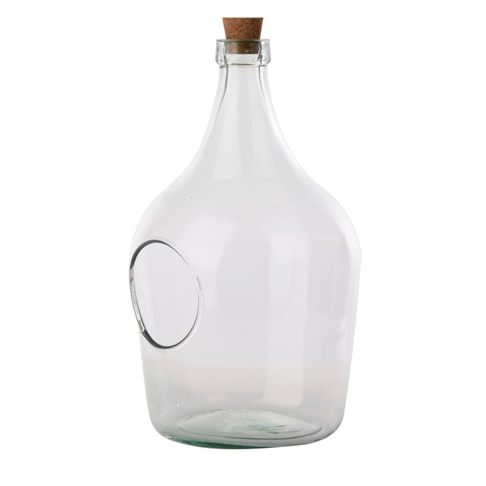 AGG84 - OPEN TERRARIUM CLEAR BOTTLE ( 5 L
