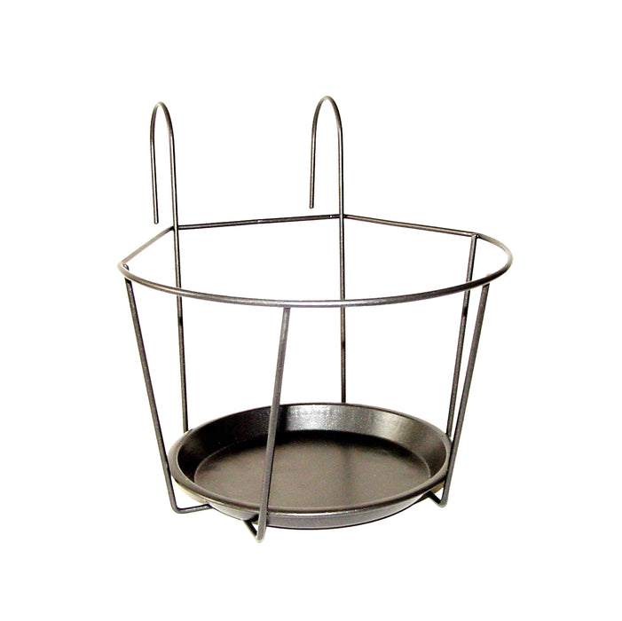 BPH107 - BALCONY POT HANGER GREY (L)