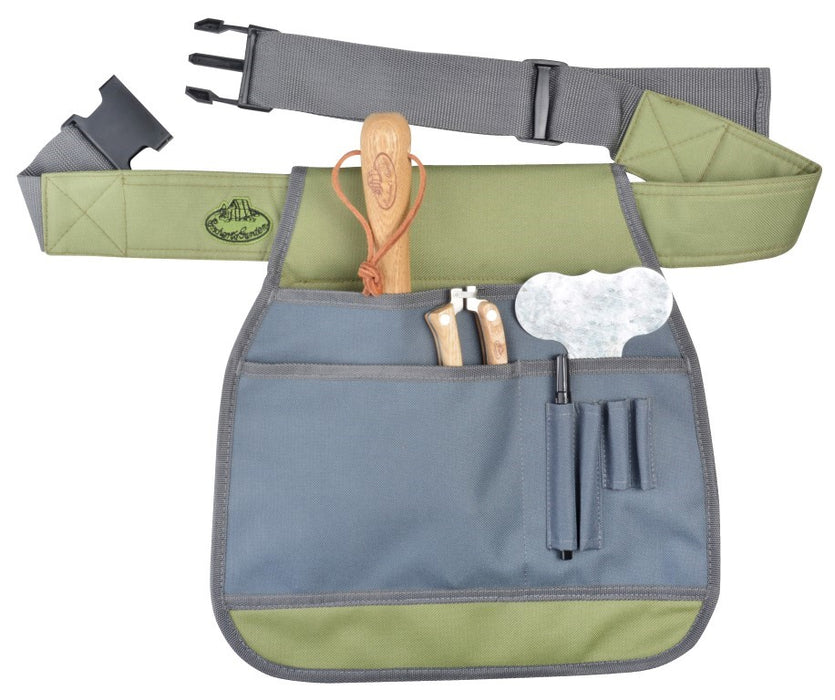 GT91 - BBQ APRON WITH TOOLS