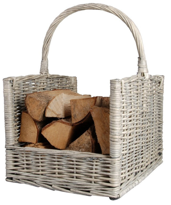 MW42- WILLOW LOG BASKET