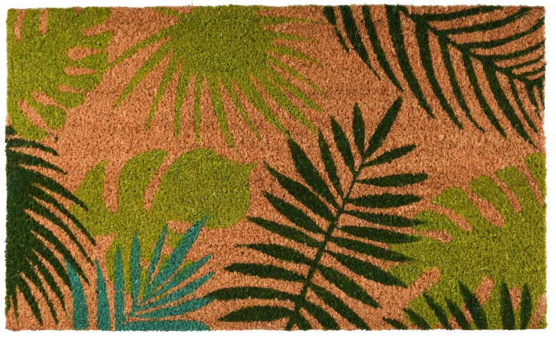 RB209 - COIR DOORMAT AUTUMN LEAVES