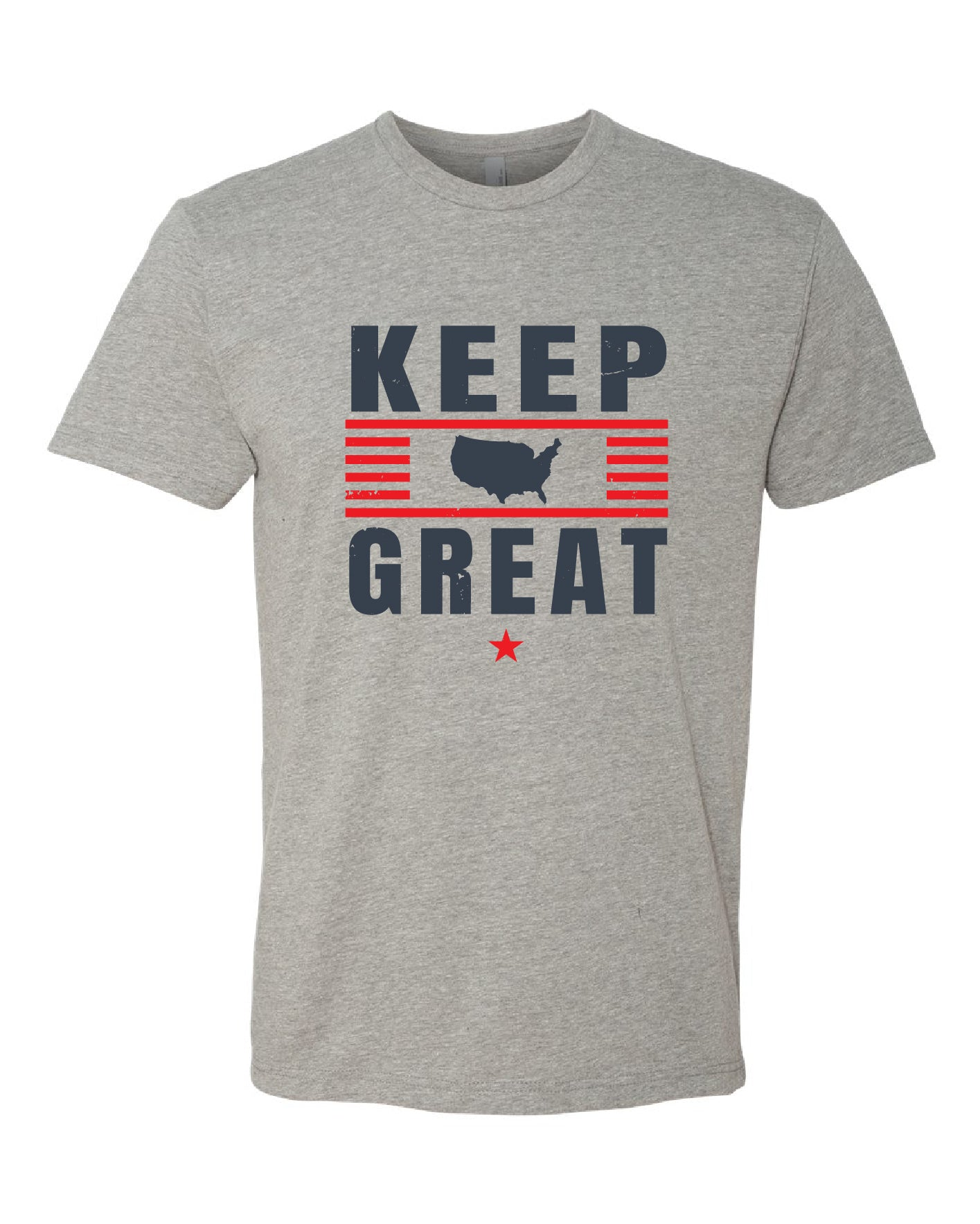 Keep America Great Grey Tee