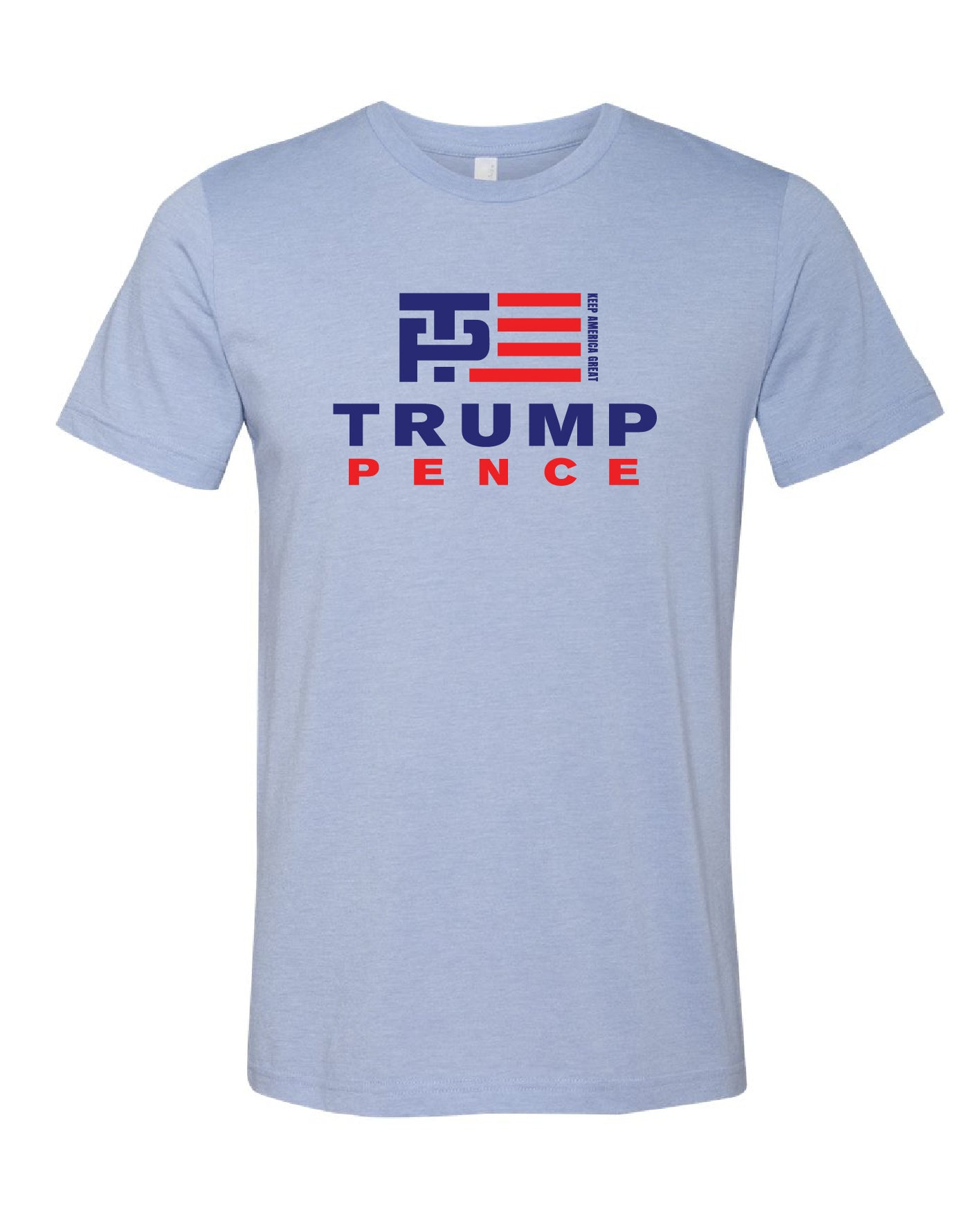 Trump/Pence Light Blue Tee