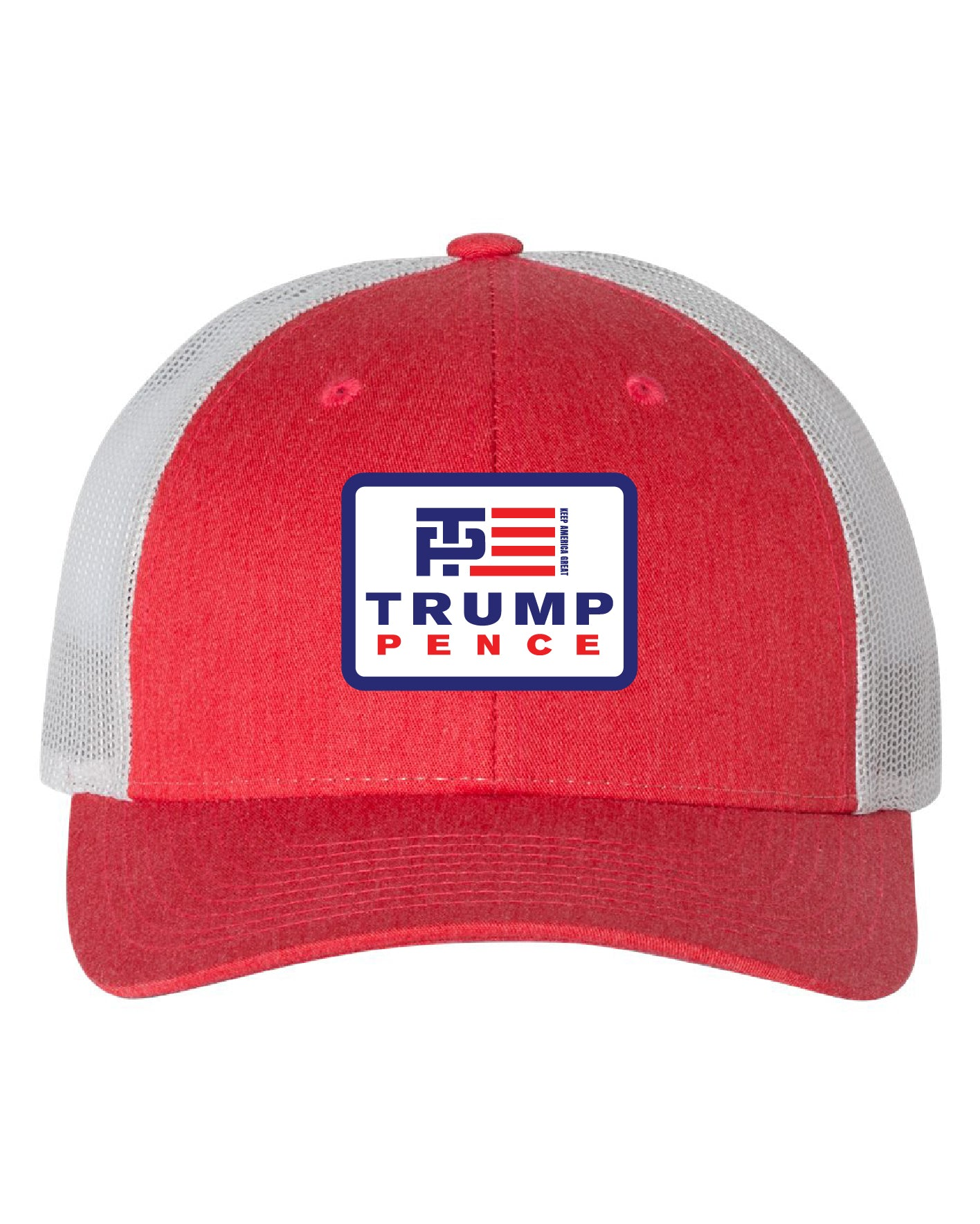Trump/Pence Red/White Trucker Hat