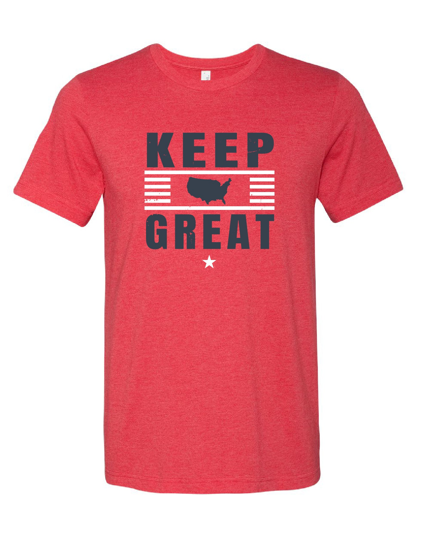 Keep America Great Red Tee