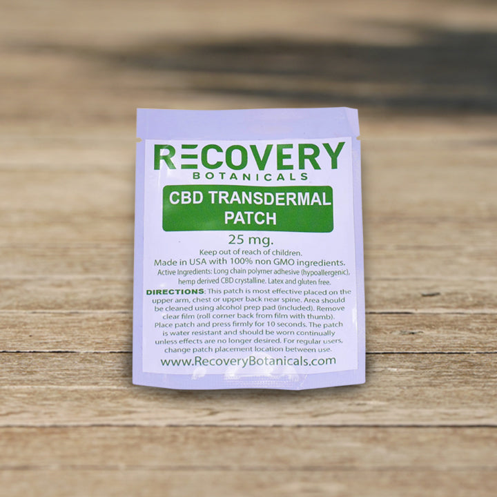Transdermal CBD Patch - 25mg