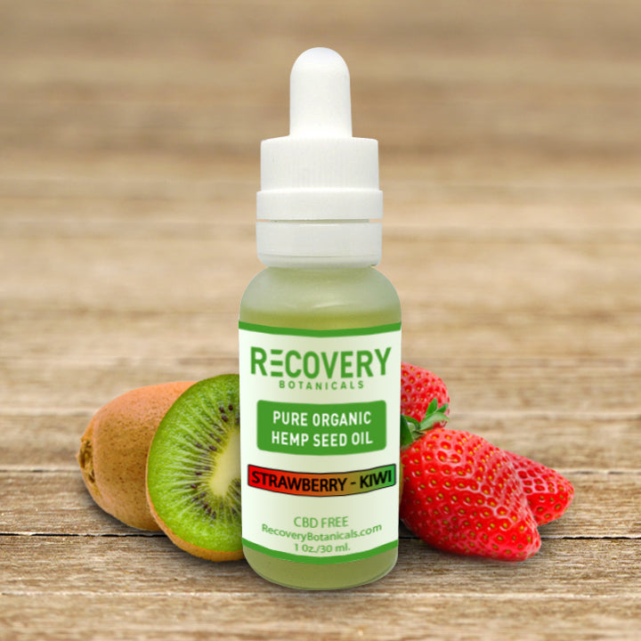 Recovery Hemp Tincture - No CBD or THC