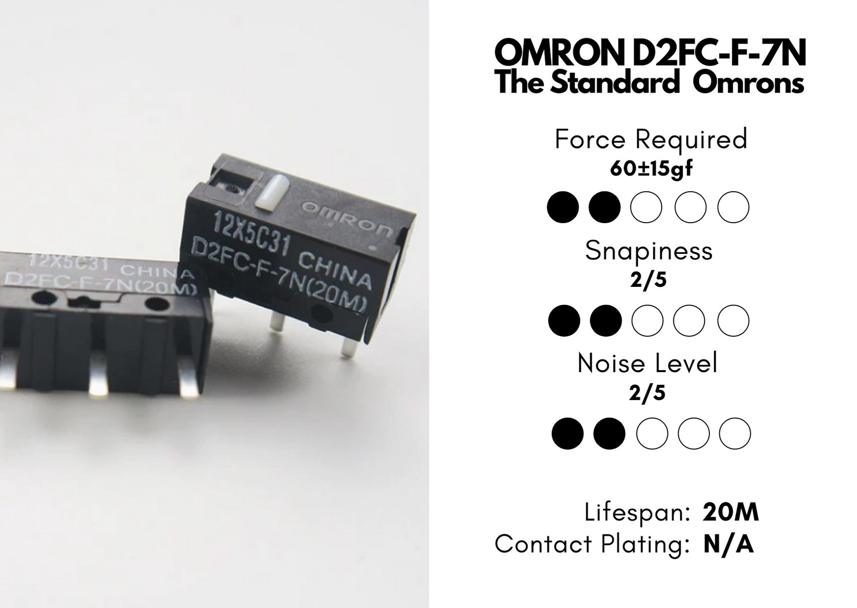 omron mouse switch