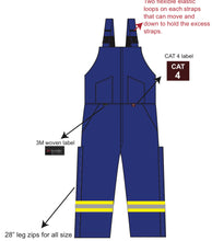Load image into Gallery viewer, FireZero Fire Resistant Winter Bib Pant