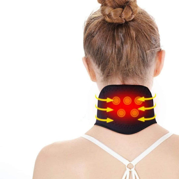 Self-Heating Magnetic Neck Therapy - Health Boss