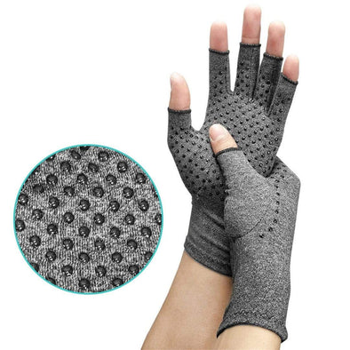 Arthritis Open Finger Compression Gloves - Health Boss