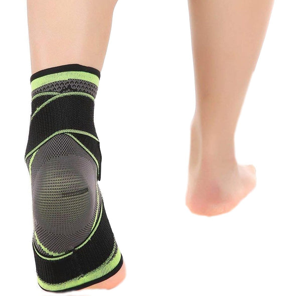 3D Weaving Ankle Compression Sleeve