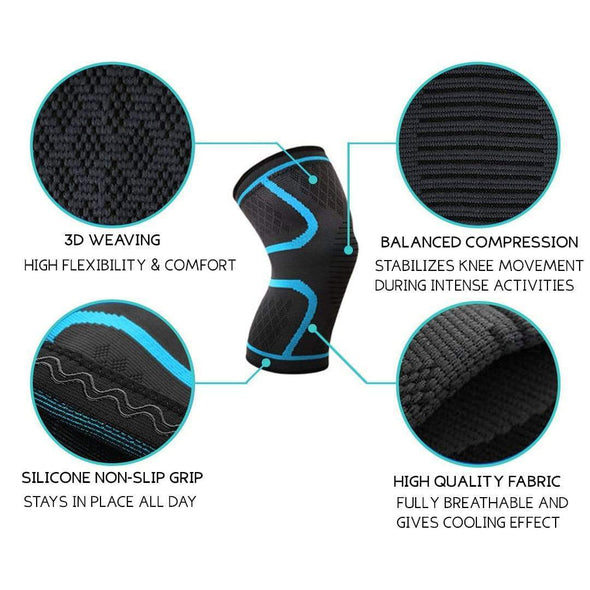 Core Compression Knee Sleeve - Health Boss