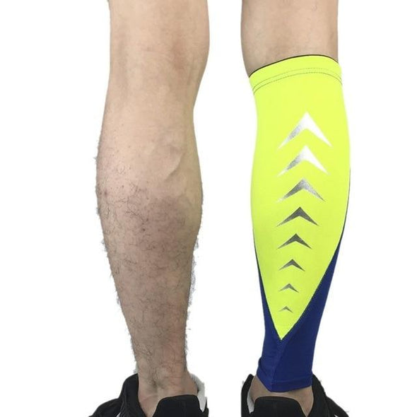 Reflective Compression Calf Sleeve