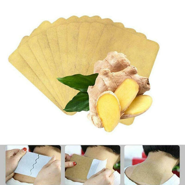 Ginger Detox Patch (10pcs) - Health Boss