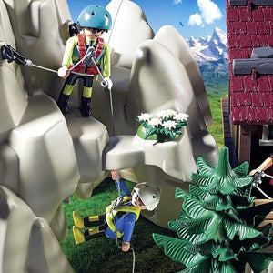 Playset Action Climbers Playmobil 9126 (23 pcs)
